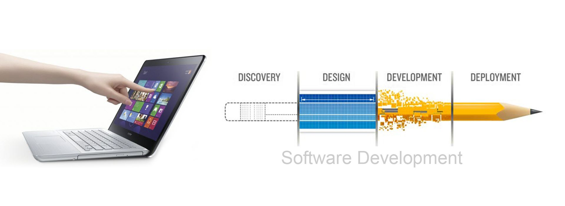 Software Development Slider
